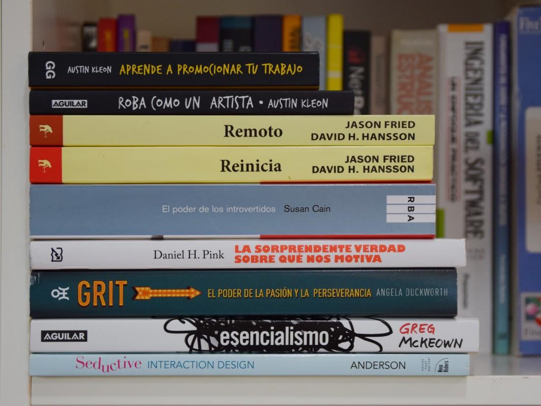 La pila de libros de 2017